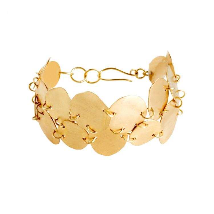 Armband N034, col. gold
