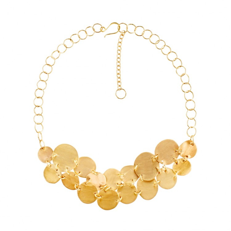 Collier N034-2, col. gold