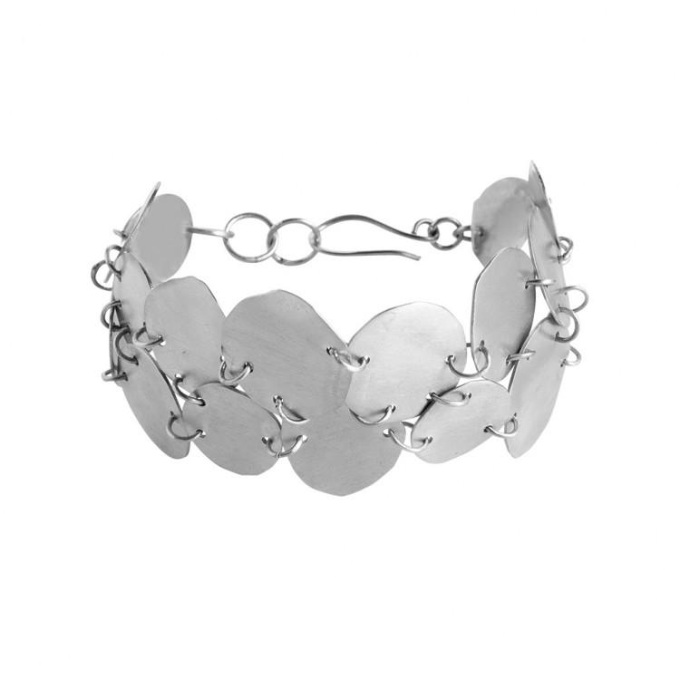 Armband N034, col. silber