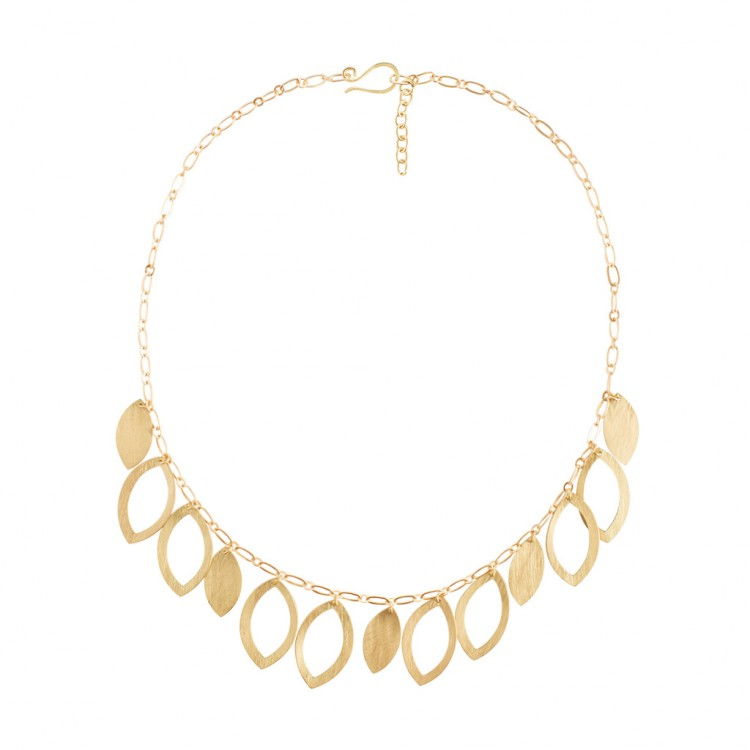 Collier N036, col. gold