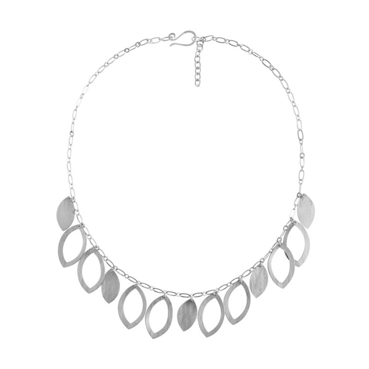 Collier N036, col. silber