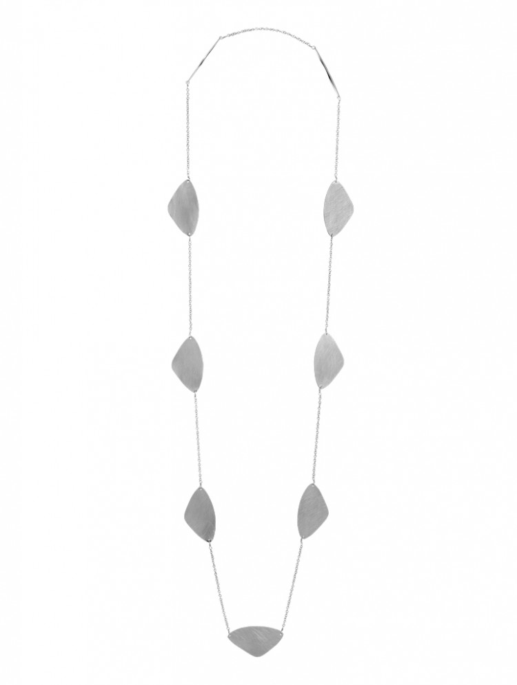 Collier N037, col. silber