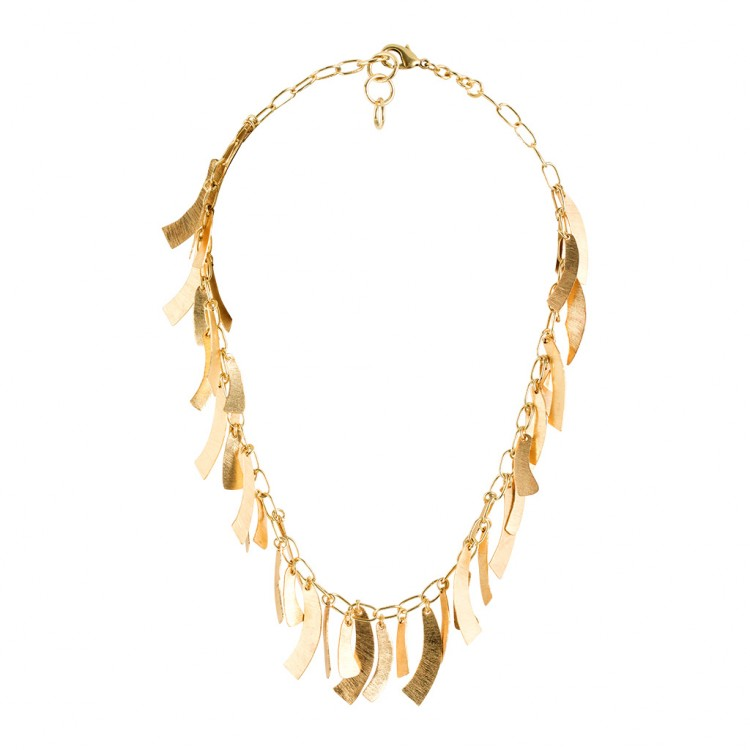 Collier N040, col. gold