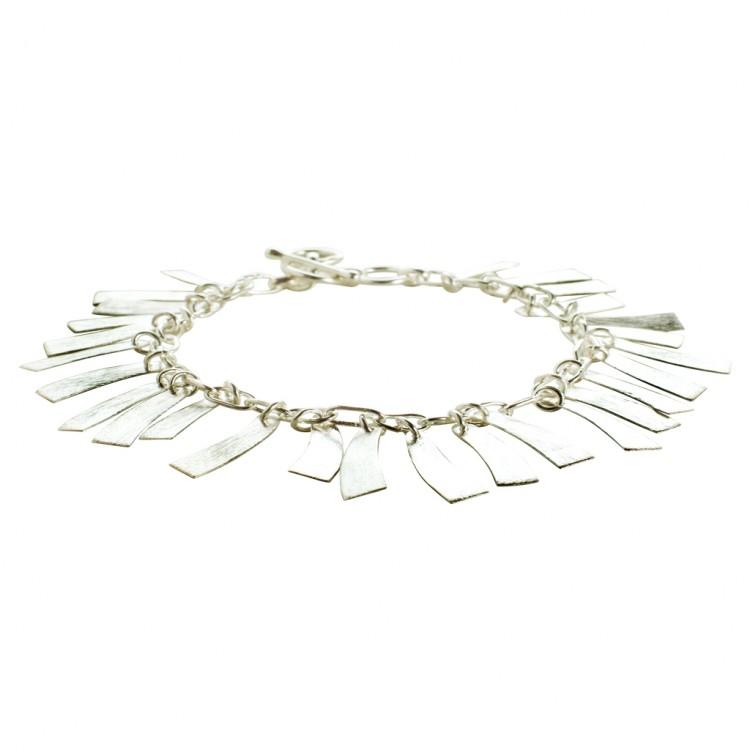 Armband N040, col. silber