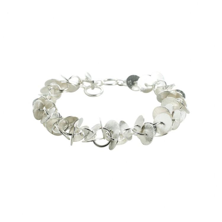 Armband N041, col. silber