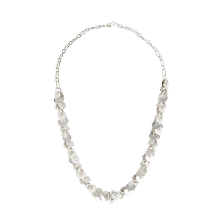 Collier N041, col. silber