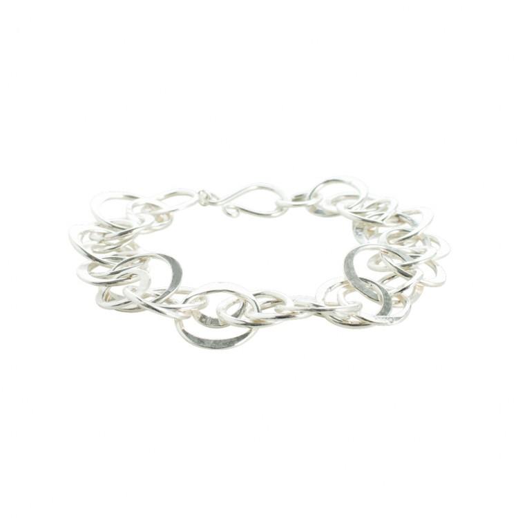 Armband N042, col. silber