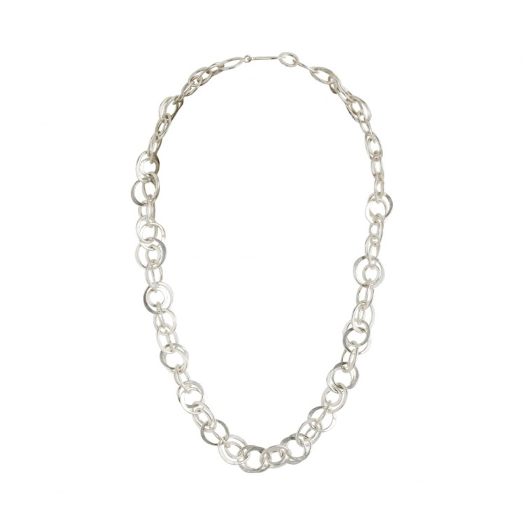 Collier N042, col. silber