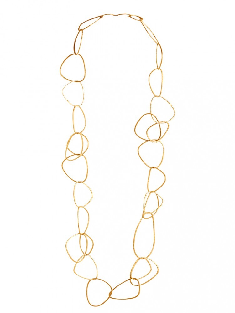 Collier N046, col. gold