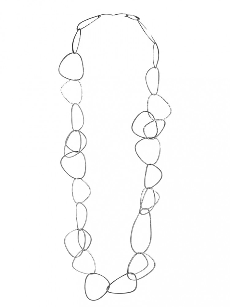 Collier N046, col. silber