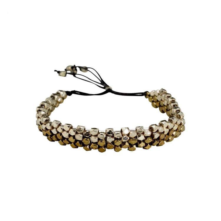 Armband SITSI, col. silber/ gold