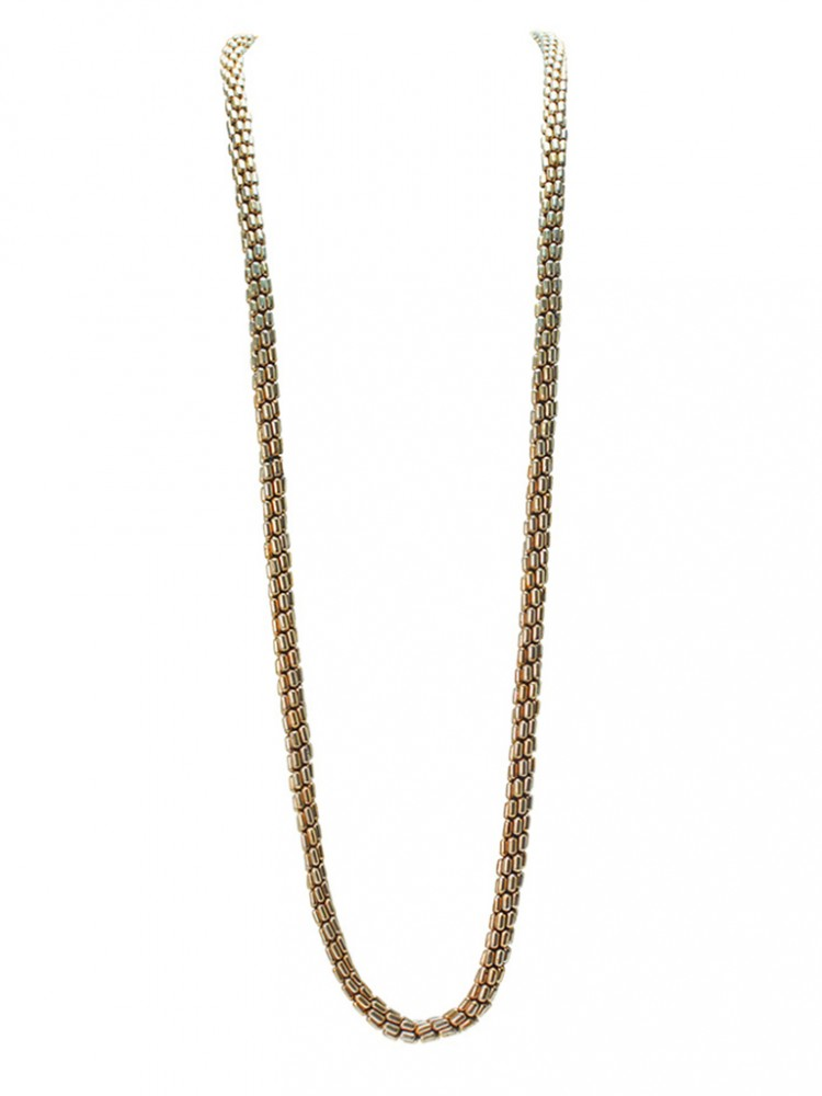 Collier ZIHNA, col. gold antik