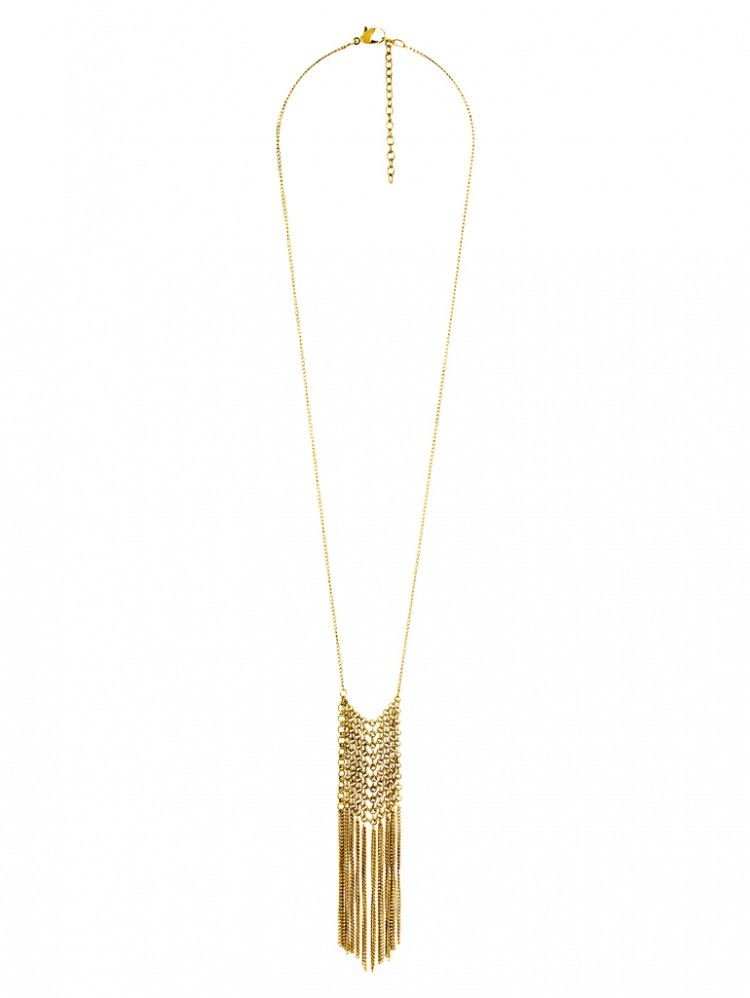 Collier TIVA, col. gold antik