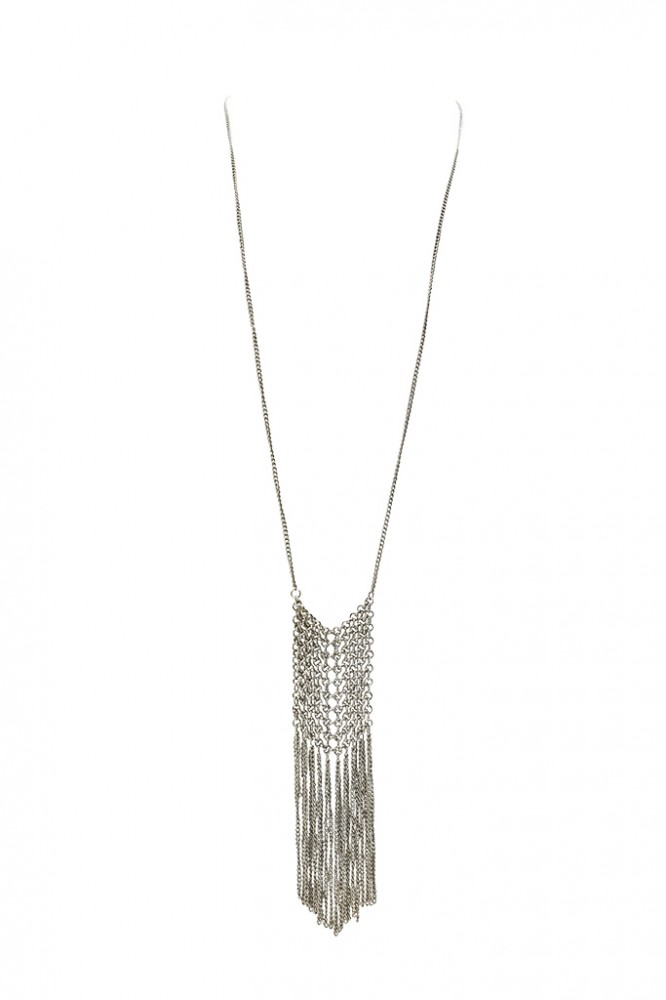 Collier TIVA, col. silber
