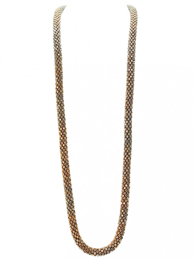 Collier ANABA, col. gold antik