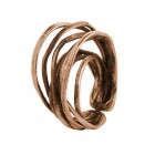 Ring EUMINA, col. bronze gold, Gr.S/M - O