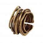 Ring WANGARA, col. gold, Gr.S/M