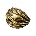 Ring NARWEE, col. gold antik, Gr.S/M - O