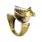 Ring NIRIMBA, col. gold antik, Gr.M/L -O