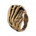 Ring GALAD, col. gold, Gr.S/M