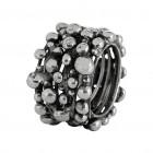 Ring TANUJ006, Silber oxidiert Gr.50