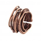 Ring WANGARA, col. bronze-gold, size M/L