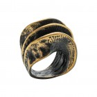 Ring PARARA, col. gold, Gr.M/L