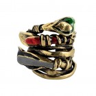 Ring LETIFEY, col. gold antique, size M/L