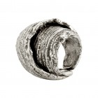 Ring SANYA, col. silver antique, size M/L