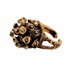 Ring MOYAL, col. gold, Gr. M/L