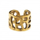Ring CASTIGO, col. gold antik, Größe M/L