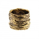 Ring NATYR-3, col. gold antique, size M