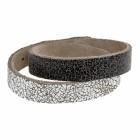 Bracelet CRACK, col. NERO/BIANCO, large