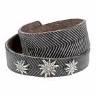 Bracelet ANUSCHA Edelw., col. T. di MORO/bianco, large