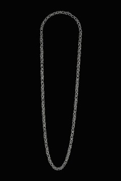 Collier MING, col. argento, 95 cm