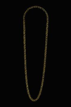 Collier MING, col. oro, 95 cm