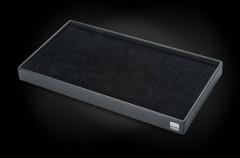 Tray für 32 Ringe/ L42xB23xT3,5cm, schwarz