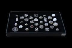 Tray GIULIA, 32 Ringe sortiert