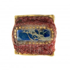 Ring INDI 419 blue