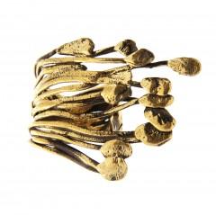 Ring FUNGINI, col. gold antik, one size