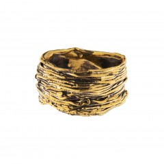 Ring NATYR-2, col. gold antique