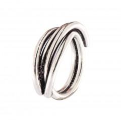 Ring N019S-RI-3, col. silver oxid.