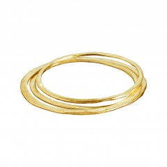 Armreif N038, Set/3 col. gold