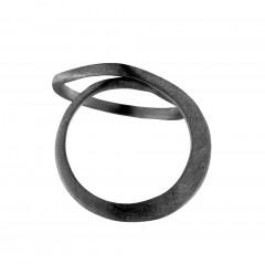 Ring N047B-RI, col. black