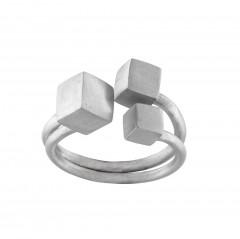 Ring N051S-RI, col. silber