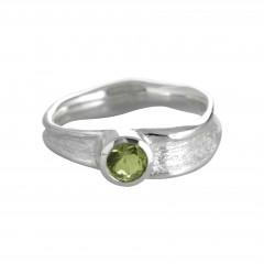 Ring ROCCO, Silber 925°°°, Peridot