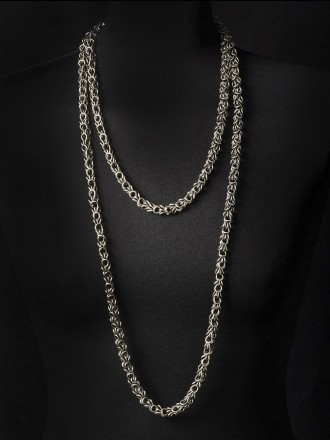 Collier MING, col. argento